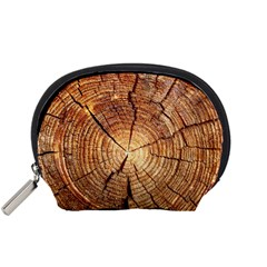 Cross Section Of An Old Tree Accessory Pouches (small)