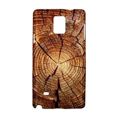 CROSS SECTION OF AN OLD TREE Samsung Galaxy Note 4 Hardshell Case