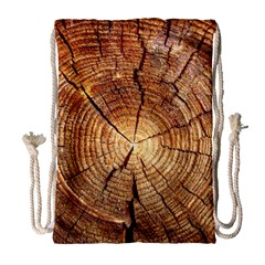 Cross Section Of An Old Tree Drawstring Bag (large)