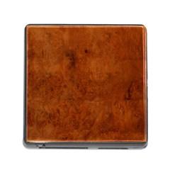 BURL OAK Memory Card Reader (Square)