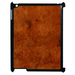 BURL OAK Apple iPad 2 Case (Black)