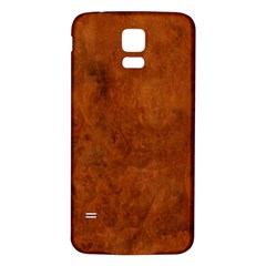 Burl Oak Samsung Galaxy S5 Back Case (white)
