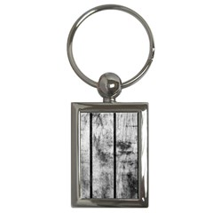 BLACK AND WHITE FENCE Key Chains (Rectangle)