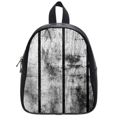 BLACK AND WHITE FENCE School Bags (Small)
