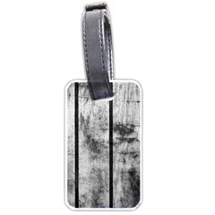 BLACK AND WHITE FENCE Luggage Tags (One Side)