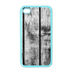 BLACK AND WHITE FENCE Apple iPhone 4 Case (Color)