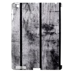 BLACK AND WHITE FENCE Apple iPad 3/4 Hardshell Case (Compatible with Smart Cover)