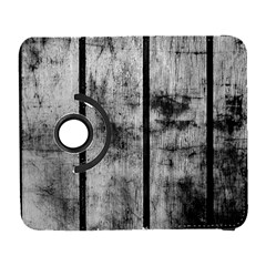 BLACK AND WHITE FENCE Samsung Galaxy S  III Flip 360 Case