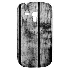 BLACK AND WHITE FENCE Samsung Galaxy S3 MINI I8190 Hardshell Case