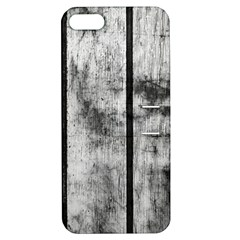 BLACK AND WHITE FENCE Apple iPhone 5 Hardshell Case with Stand