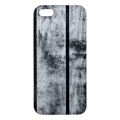 BLACK AND WHITE FENCE Apple iPhone 5 Premium Hardshell Case