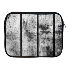 BLACK AND WHITE FENCE Apple iPad 2/3/4 Zipper Cases