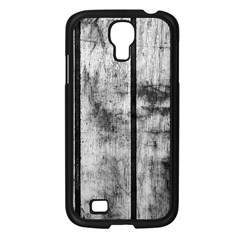 BLACK AND WHITE FENCE Samsung Galaxy S4 I9500/ I9505 Case (Black)