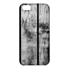 BLACK AND WHITE FENCE Apple iPhone 5C Hardshell Case