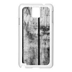 BLACK AND WHITE FENCE Samsung Galaxy Note 3 N9005 Case (White)
