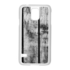 BLACK AND WHITE FENCE Samsung Galaxy S5 Case (White)