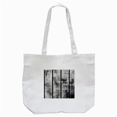 BLACK AND WHITE FENCE Tote Bag (White)