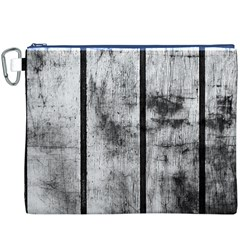 BLACK AND WHITE FENCE Canvas Cosmetic Bag (XXXL)