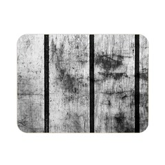 BLACK AND WHITE FENCE Double Sided Flano Blanket (Mini)