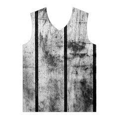 BLACK AND WHITE FENCE Men s Basketball Tank Top