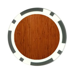 BAMBOO DARK Poker Chip Card Guards