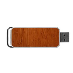 BAMBOO DARK Portable USB Flash (Two Sides)