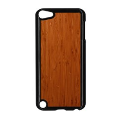 BAMBOO DARK Apple iPod Touch 5 Case (Black)