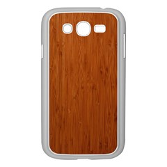 BAMBOO DARK Samsung Galaxy Grand DUOS I9082 Case (White)