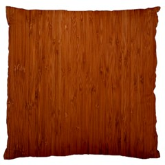 BAMBOO DARK Large Flano Cushion Cases (One Side)