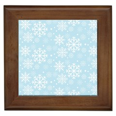 Frosty Framed Tiles