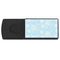 Frosty USB Flash Drive Rectangular (1 GB)