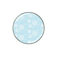 Frosty Hat Clip Ball Marker (4 pack)