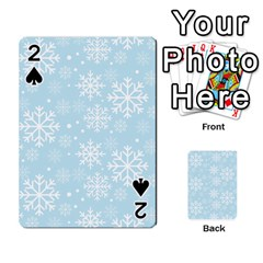 Frosty Playing Cards 54 Designs