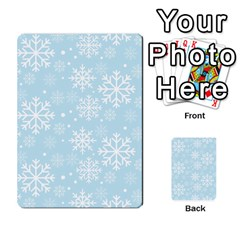 Frosty Multi Purpose Cards (rectangle)