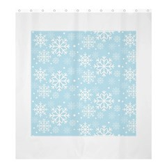 Frosty Shower Curtain 66  x 72  (Large)