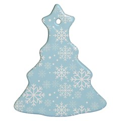 Frosty Christmas Tree Ornament (2 Sides)