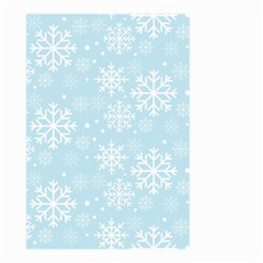 Frosty Small Garden Flag (two Sides)