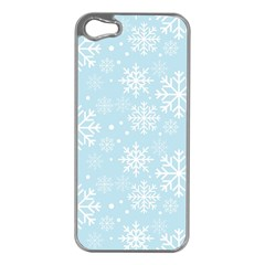 Frosty Apple iPhone 5 Case (Silver)