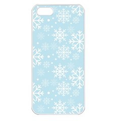 Frosty Apple iPhone 5 Seamless Case (White)