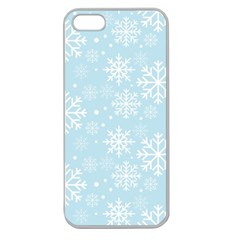 Frosty Apple Seamless iPhone 5 Case (Clear)