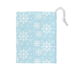 Frosty Drawstring Pouches (Large)