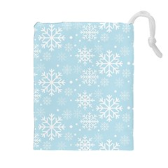 Frosty Drawstring Pouches (Extra Large)
