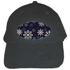 Snowflake Black Cap