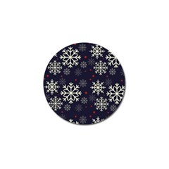 Snowflake Golf Ball Marker (10 pack)