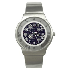 Snowflake Stainless Steel Watches
