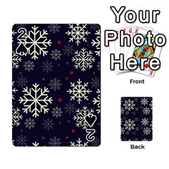 Snowflake Playing Cards 54 Designs