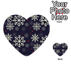 Snowflake Playing Cards 54 (Heart)