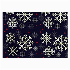 Snowflake Large Glasses Cloth (2-Side)
