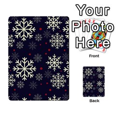 Snowflake Multi Purpose Cards (rectangle)