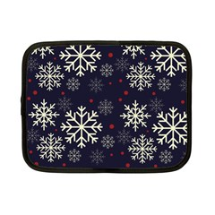 Snowflake Netbook Case (Small)
